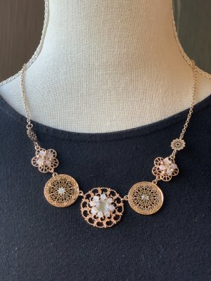 Claires Necklace rose-gold-coloured-bronze-colored