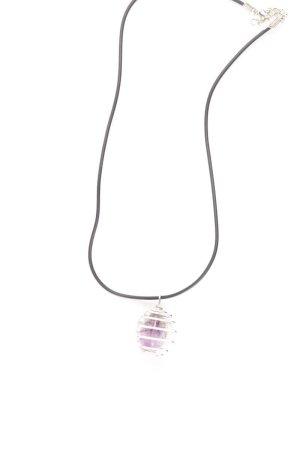 Halskette lila