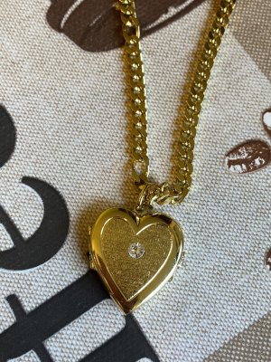 Halskette massiv von oma mit Herz Anhänger