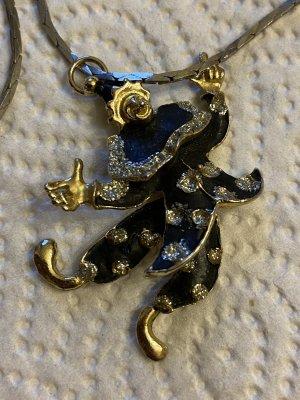 Halskette mit beweglichen Klien Anhänger aus Nachlass