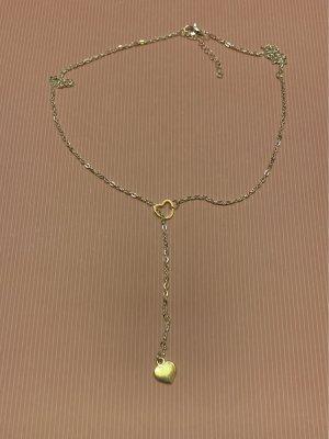 Halskette mit Herz Y Kette