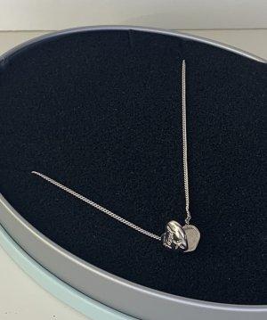 Halskette mit Herzamulett von Fossil