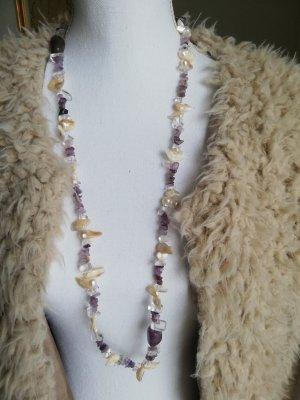 Necklace dark violet