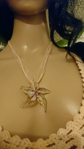 Collier Necklace light pink-cream