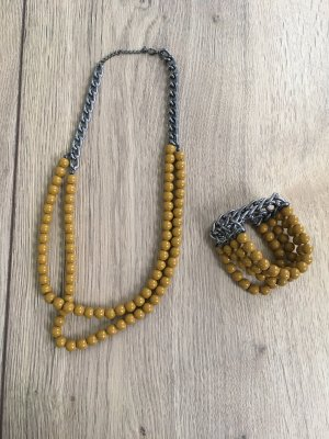 Charles Vögele Jewellery Set gold orange