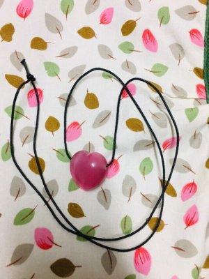 Collar rosa-rosa neón