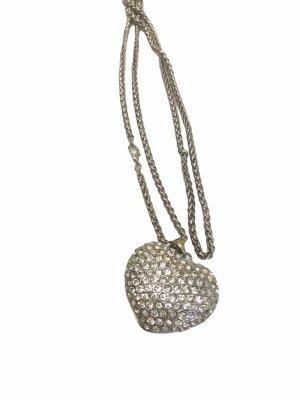 Halskette mit Strass Crystal Herz Kette