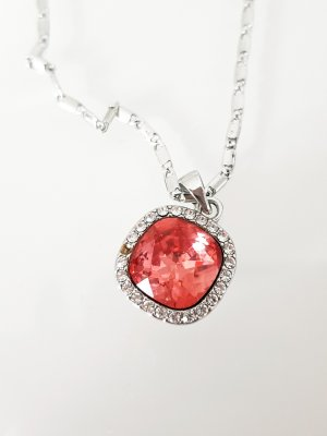Metropolitan Necklace silver-colored-salmon