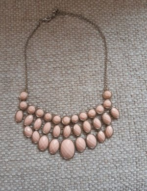 H&M Statement ketting goud-abrikoos