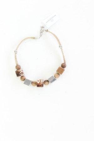 Halskette neuwertig braun