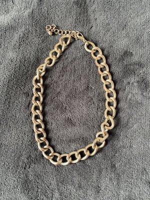 Halskette Panzerkette gold