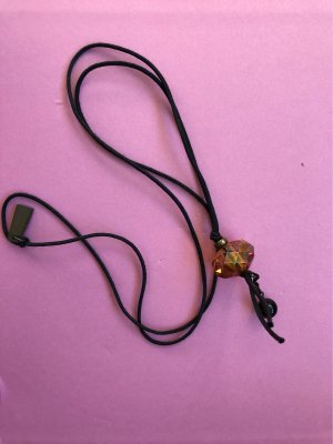 Halskette, Pendant Necklace mit Swarovski Kristall