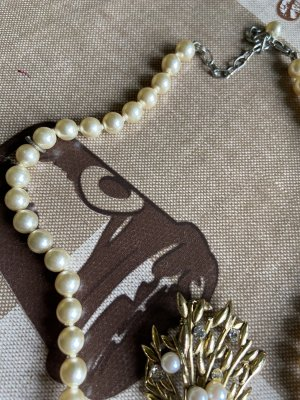 Halskette Perlen von Oma