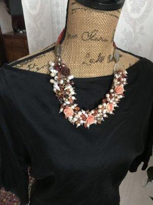 Halskette Schmuck mit Perlen