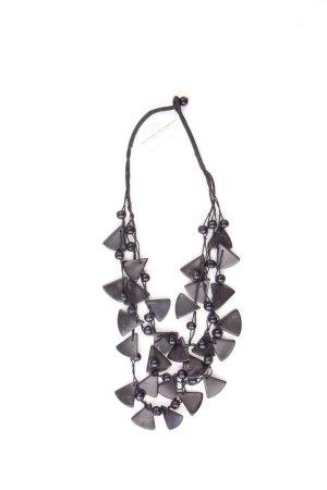 Halskette schwarz