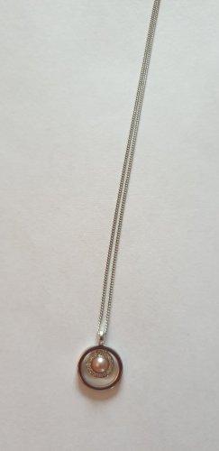 Halskette, Silber mit Perle