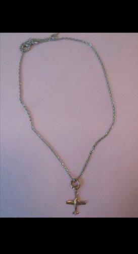 Halskette Silber/rose Gold FOSSIL