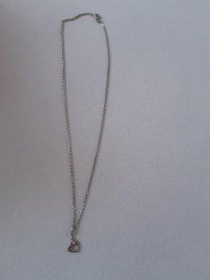 Halskette silber Xenox mit Herz Anhänger