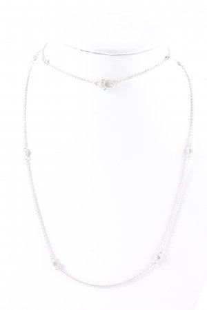 Collana argento elegante