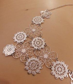claire Necklace silver-colored