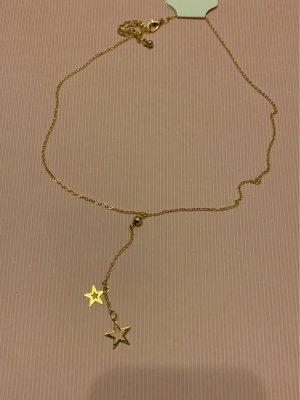 Sterne Schakelketting goud