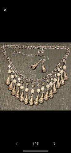 Halskette und Ohrringe Konvolut aus Nachlass neuwertig