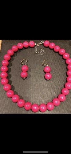 Halskette und Ohrringe neuwertig von Oma