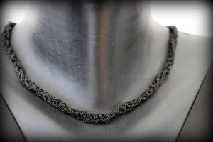 Armani Collezioni Ketting zwart