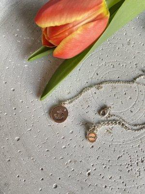 Halskette von LIZAS mit rosegoldenem Anker ⚓️