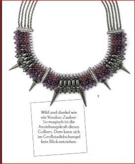 Pippa & Jean Collar estilo collier lila