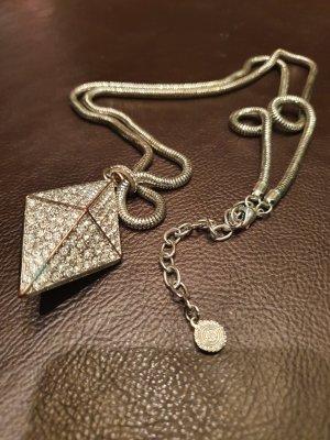 Graziano Necklace silver-colored