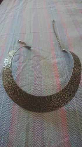 Collana sabbia-nero Metallo