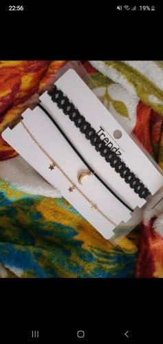 trendz Necklace black-gold-colored