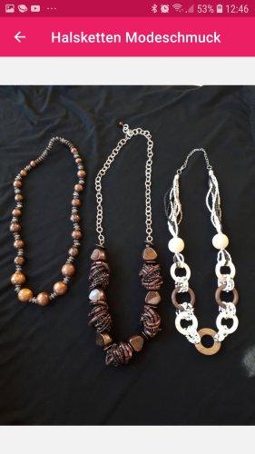 Halsketten  9 Ketten im Set