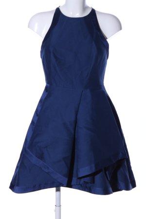 Halston heritage Abito a palloncino blu elegante
