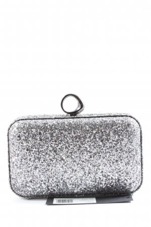 Halston heritage Borsa clutch argento elegante