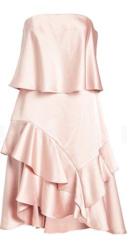 Halston heritage Corsage Dress multicolored
