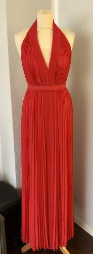 Halston Heritage Kleid pink mit Gürtel