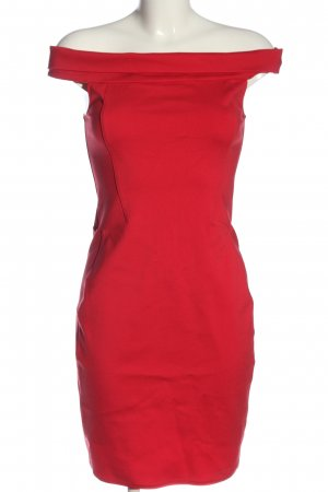 Halston heritage Mini Abito rosso elegante