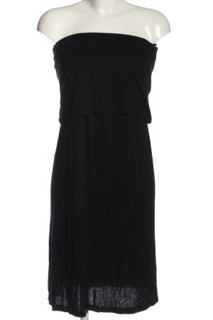 Halston schulterfreies Kleid