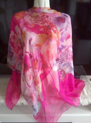 Écharpe d'été rose-rose