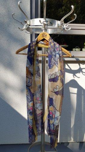 Fazzoletto da collo multicolore Tessuto misto