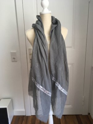 Ernstings Family Neckerchief light grey-silver-colored
