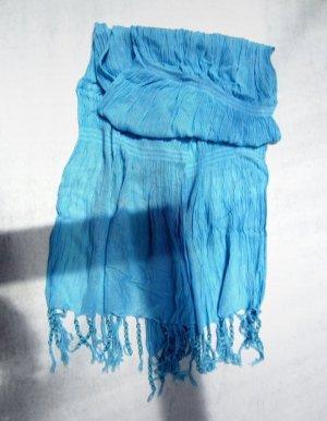 Foulard bleuet