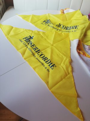 Neckerchief yellow-dark blue