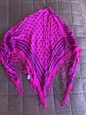Neckerchief brown violet-violet