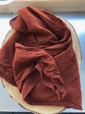 Ohne Neckerchief brown red cotton