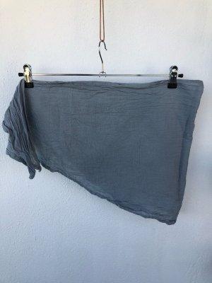 Ohne Neckerchief slate-gray-light grey cotton