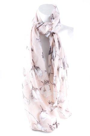 Foulard motif de fleur style décontracté