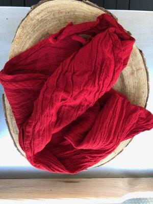 Ohne Neckerchief dark red cotton
